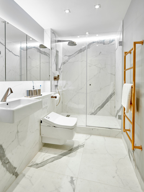 Bathroom Modern bathroom by Morph Interior Ltd Modern