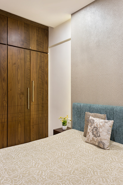 Guest Bedroom Modern style bedroom by The design house Modern Wood Wood effect