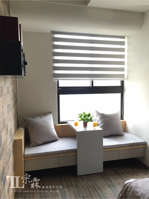 Bedroom by 宗霖建築設計工程,