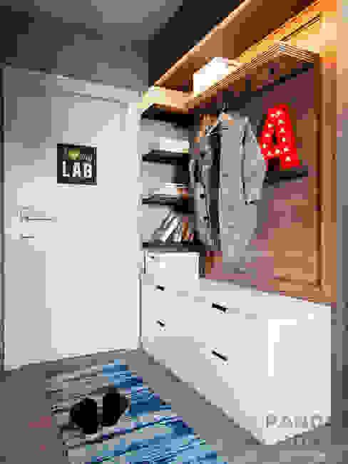 الغرف من дизайн-студия PandaDom صناعي