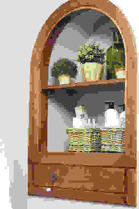 """Квартира в деревенском стиле ЖК """"Рублевское предместье"""" Ванная комната в стиле кантри от SK- Sokolova design & Kogut Stroy Кантри"""