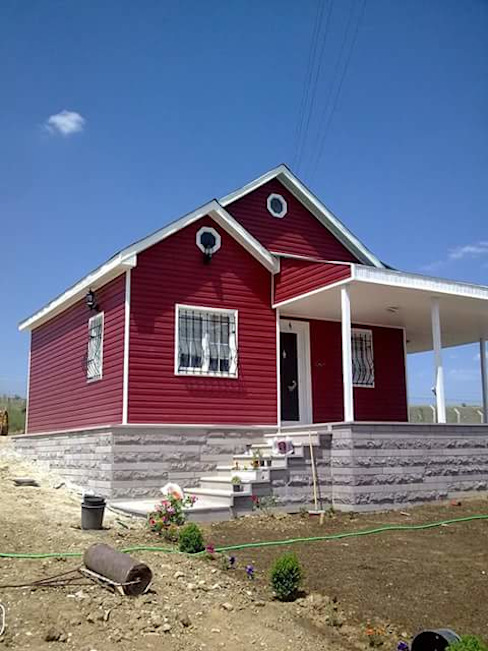 Modern houses by ersin usta prefabrik Modern Wood Wood effect