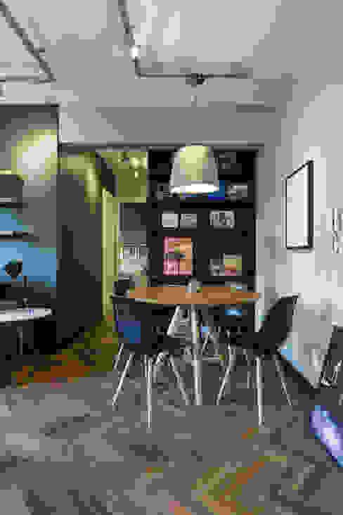 غرفة السفرة تنفيذ K+S arquitetos associados,