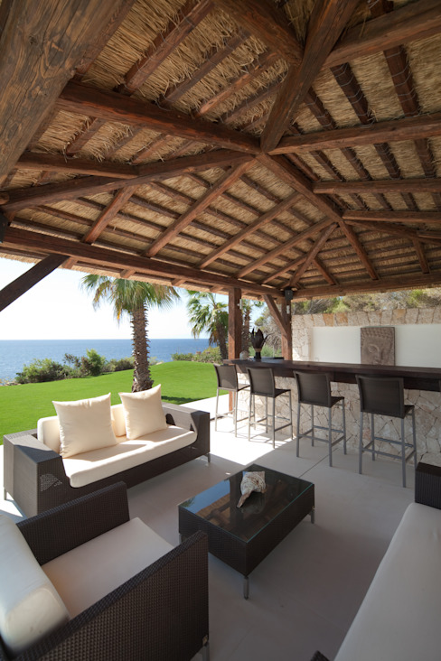 Balcones y terrazas mediterráneos de jle architekten Mediterráneo