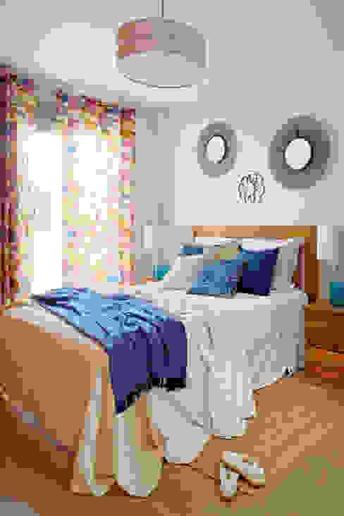Casa de playa. Alicante itta estudio Dormitorios de estilo mediterráneo