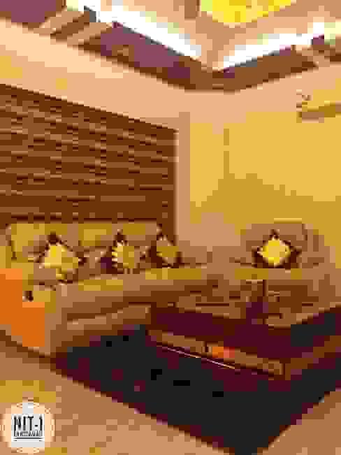 NIT-1 Faridabad Modern media room by homify Modern