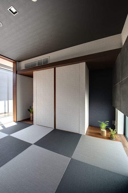 TERAJIMA ARCHITECTS/テラジマアーキテクツ Media room Grey