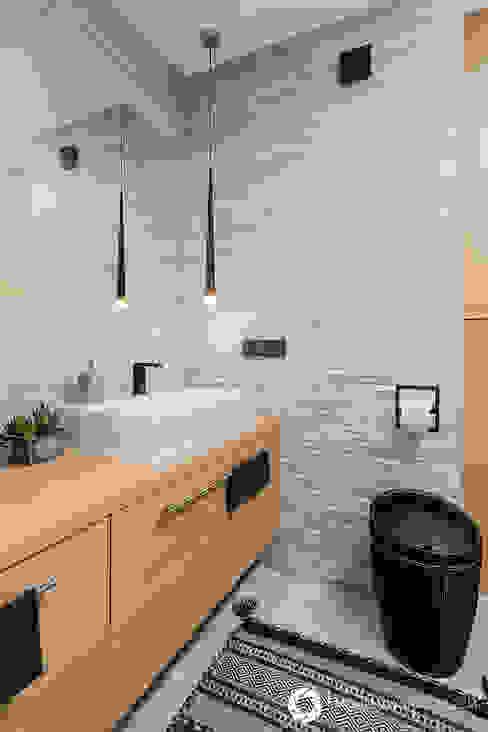 Ванная комната в стиле модерн от Michał Młynarczyk Fotograf Wnętrz Модерн