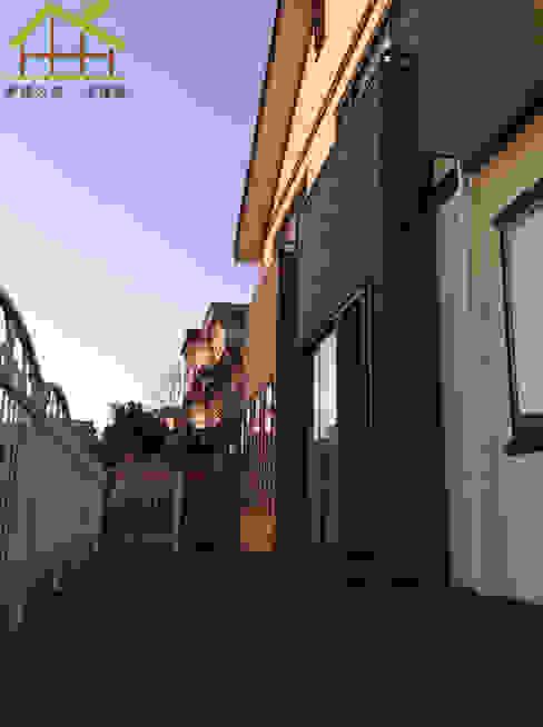 實品參觀屋-日式木結構-健康住宅 根據 詮鴻國際住宅股份有限公司 北歐風