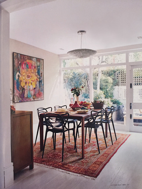 Dining room Eclectic style dining room by Jam Space Ltd Eclectic
