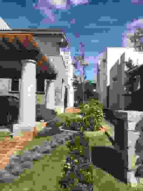 Vườn theo SCH2laap arquitectura + paisajismo, Hiện đại