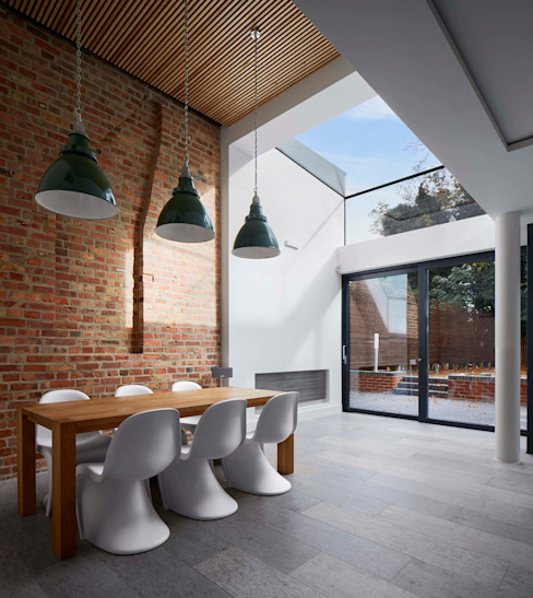 Church Crescent Dining Space Modern Dining Room by Andrew Mulroy Architects Modern