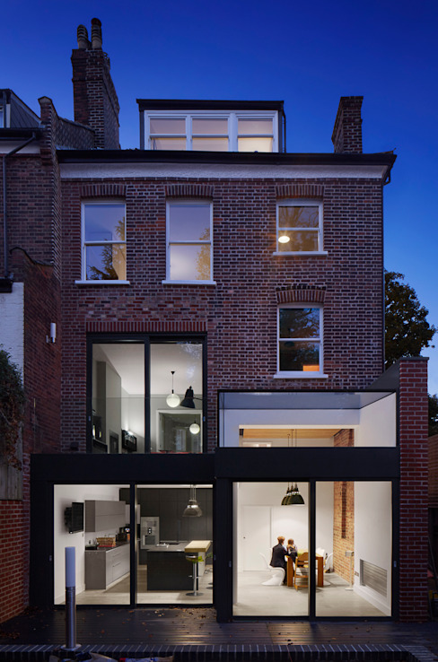 Church Crescent Modern Houses by Andrew Mulroy Architects Modern