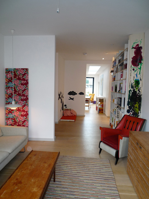 Lounge Modern living room by A2studio Modern
