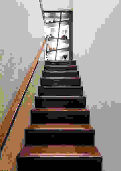 Pasillos, vestíbulos y escaleras tropicales de 芸采創意空間設計-YCID Interior Design Tropical