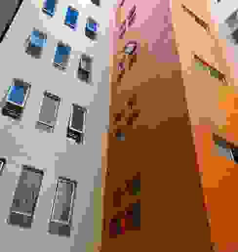 Edificio Coyoacán Casas estilo moderno: ideas, arquitectura e imágenes de simon&diseño Moderno