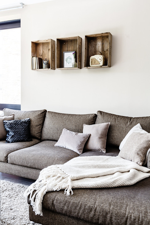 Living room تنفيذ Marion van Vliet Interieurontwerp