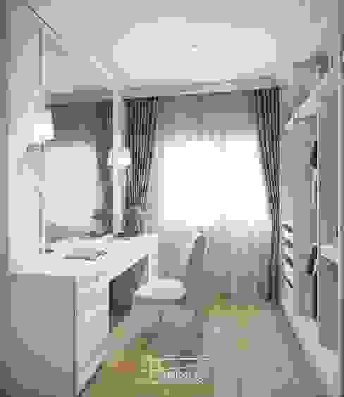Areeya como บางนา โดย Phrixus interior design co.,ltd.