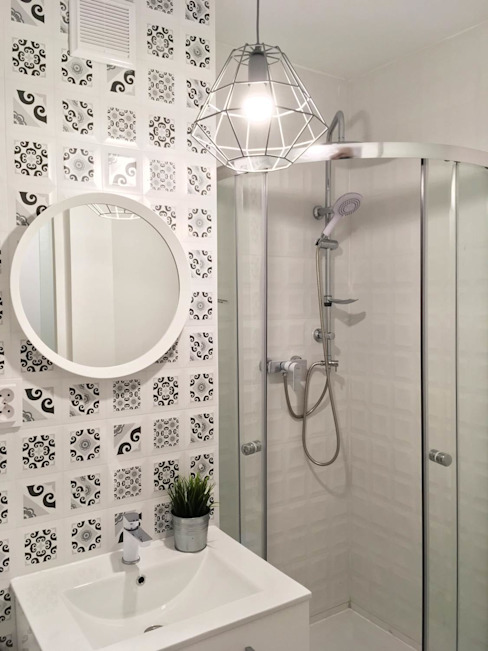 Pasja Do Wnętrz Scandinavian style bathrooms