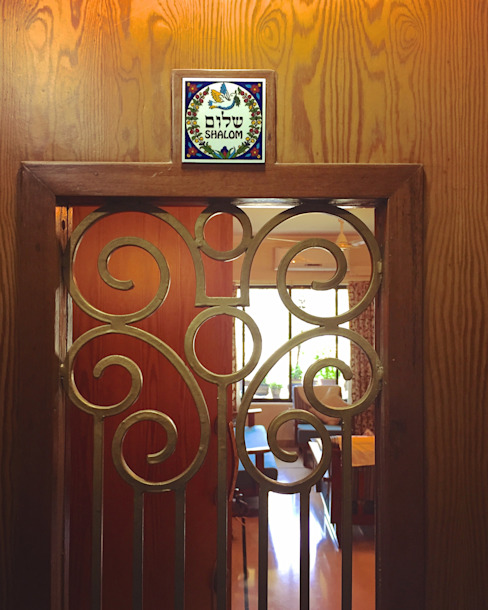 Entrance. Eclectic style houses by Design Kkarma (India) Eclectic