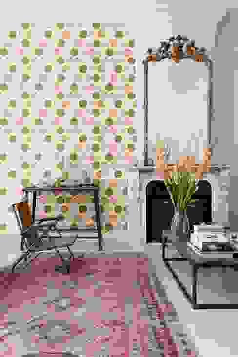 ESTAhome.nl Walls & flooringWallpaper Amber/Gold