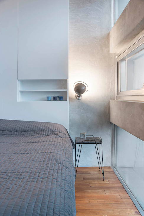 Chambre moderne par 何侯設計 Ho + Hou Studio Architects Moderne