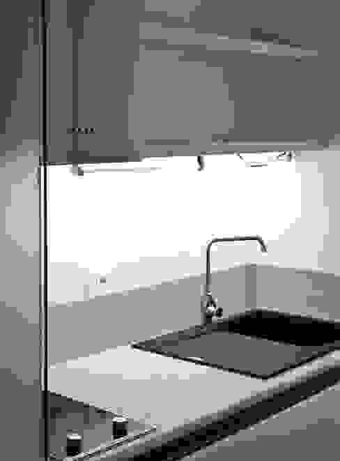 ibedi laboratorio di architettura Kitchen Marble White