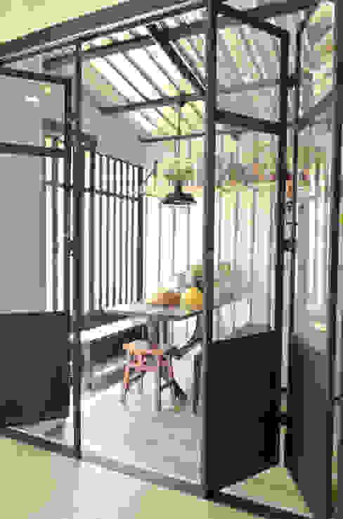 Loft townhouse ramรับออกแบบตกแต่งภายใน ตกแต่งภายใน โลหะ Black