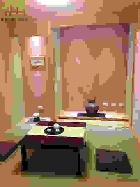 實品參觀屋-日式木結構-健康住宅 根據 詮鴻國際住宅股份有限公司 日式風、東方風