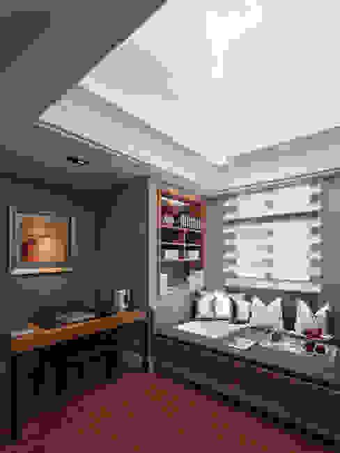 Chambre classique par 大觀室內設計工程有限公司 Classique