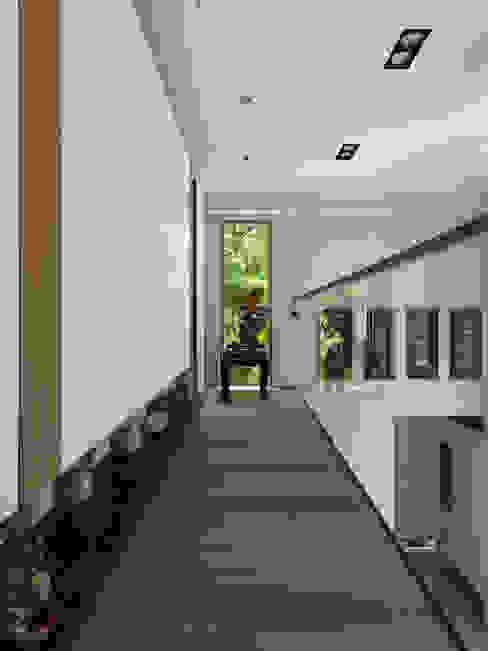 賀澤室內設計 HOZO_interior_design 亞洲風玄關、階梯與走廊 根據 homify 日式風、東方風