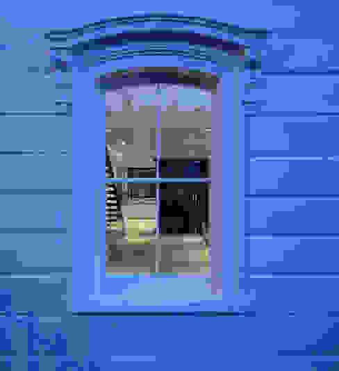 St Paul Street Minimalistische ramen & deuren van Ciarcelluti Mathers Architecture Minimalistisch Massief hout Bont