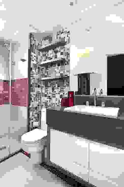 ห้องน้ำ โดย Espaço Alessandra Luz Casa & Jardim,