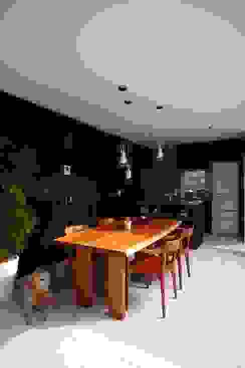 Ruang Makan Modern Oleh 藤井伸介建築設計室 Modern