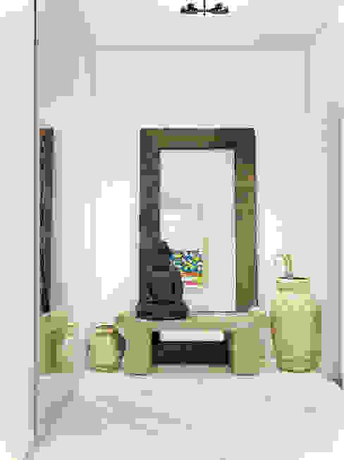 Pasillos y vestíbulos de estilo  por Студия дизайна интерьера ART-Labs, Ecléctico