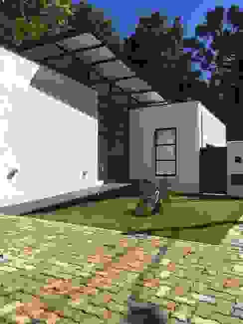 Residência Galeria Casas minimalistas por Studio + Arquitetura e Urbanismo Minimalista Metal