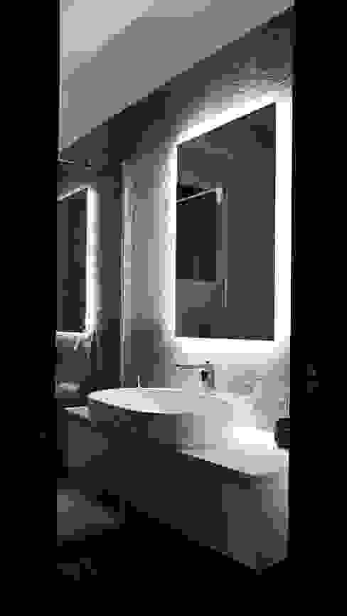 Ristrutturazione appartamento Carimate Cappelletti Architetti Bagno moderno Ceramica