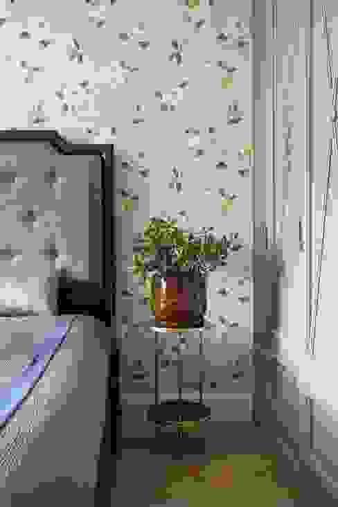 غرفة نوم تنفيذ Dots&points interior design studio, كلاسيكي