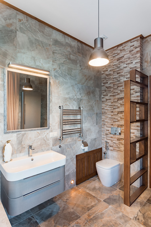 Eclectic style bathroom by ARK BURO Eclectic