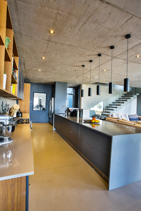 Kitchen Modern kitchen by homify Modern Concrete