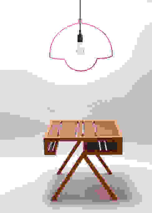 Lamp Ligne sticker hanglamp:   door Wisse Trooster - qoowl, Industrieel Kunststof