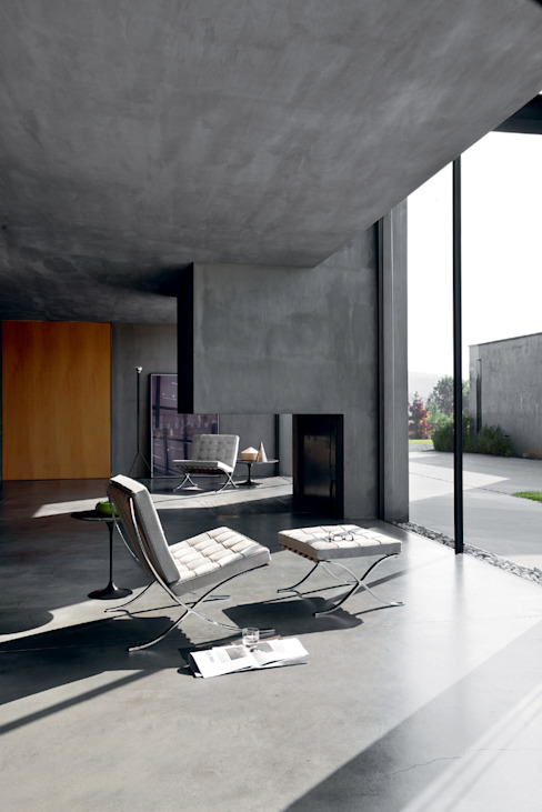 minimalist  by Création Contemporaine, Minimalist Leather Grey
