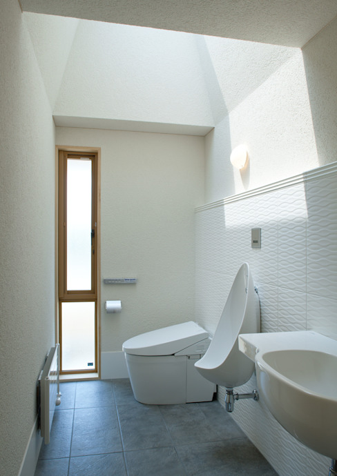 アトリエ・アースワーク Scandinavian style bathroom White