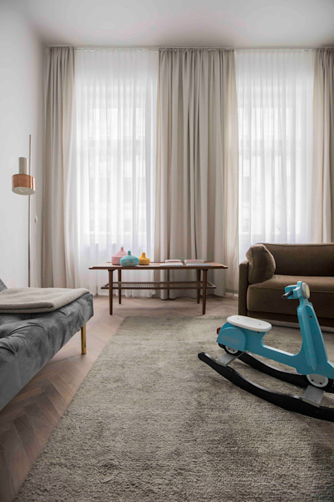 Modern living room by destilat Design Studio GmbH Modern