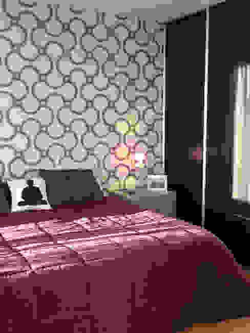 Dormitorios de estilo moderno de ARQUITECTA MORIELLO Moderno