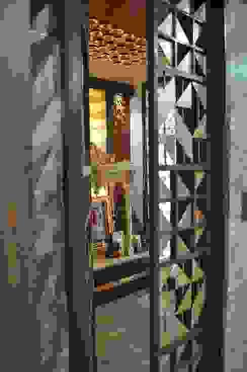 Interior of Nikhil Prajapati Modern windows & doors by Architects at Work Modern