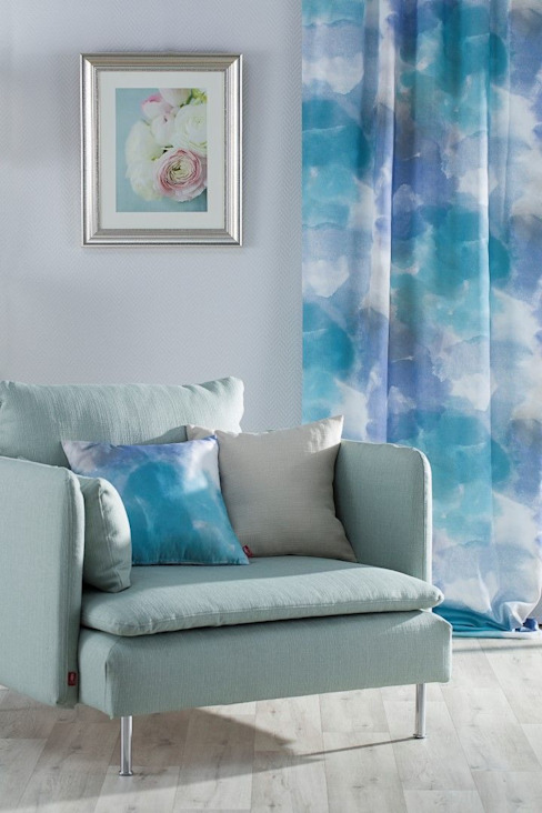 Dekoria GmbH Living roomSofas & armchairs Textile Grey