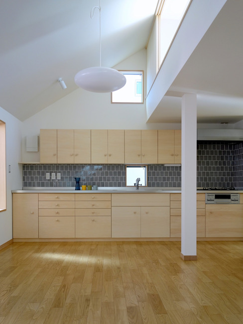 深沢の家 小形徹*小形祐美子 プラス プロスペクトコッテージ 一級建築士事務所 モダンな キッチン