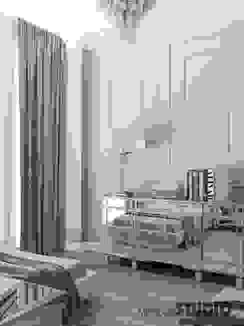 Eclectic style bedroom by MIKOLAJSKAstudio Eclectic