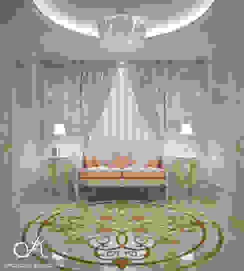 Villa:  Corridor & hallway by Design studio by Anastasia Kovalchuk, Classic